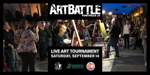Art Battle Fortville - September 14, 2019