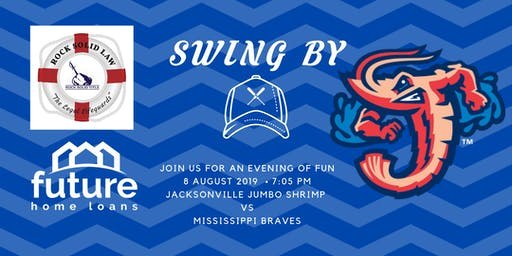 Join us at The Jacksonville Jumbo Shrimp Game  as they take on the Braves
