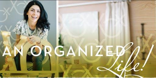 Organizing With Style - Masterclass with Sara Barba, owner XOXOrganizing