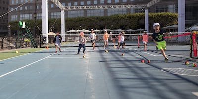 Brookfield Place Tennis: Kids Clinic with Super Du
