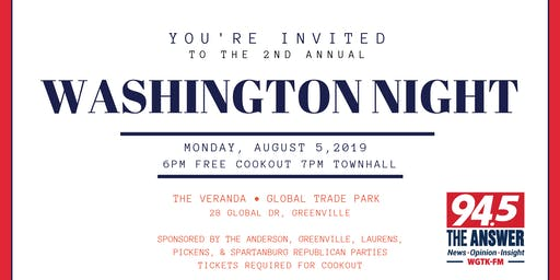 2nd Annual Washington Night