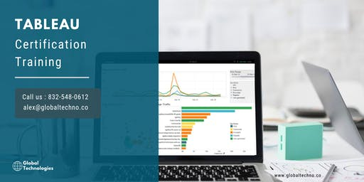 Tableau Certification Training in Greater Los Angeles Area, CA
