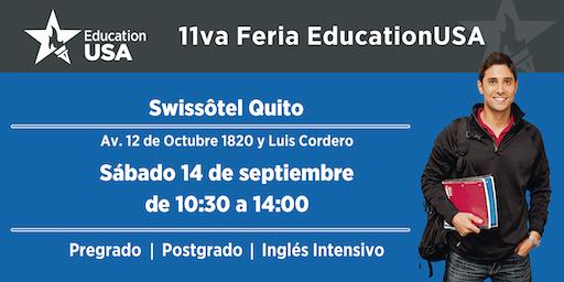 11va Feria de Universidades EducationUSA - Quito