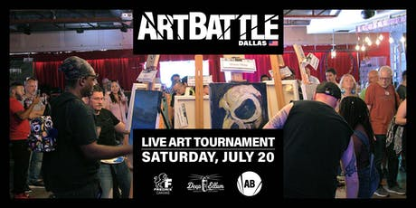 Art Battle Dallas - July 20, 2019 tickets