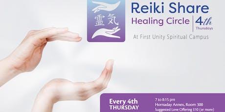 Reiki Share Healing Circle tickets