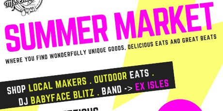 SUMMER MARKET AT MS CHEEZIOUS tickets