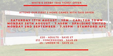 Lincoln United - Trio of Derbies tickets