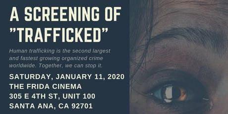 "AIB2B Presents a Screening of ""Trafficked"" at the Frida Cinema tickets"