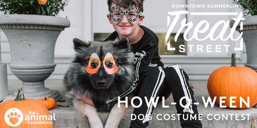 Howl-O-Ween Dog Costume Contest at Downtown Summerlin 2019