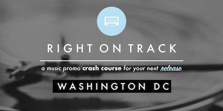 RIGHT ON TRACK // DC tickets