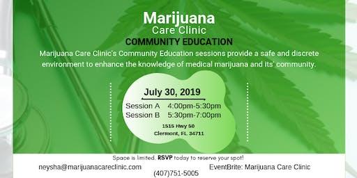 Community Education with Marijuana Care Clinic