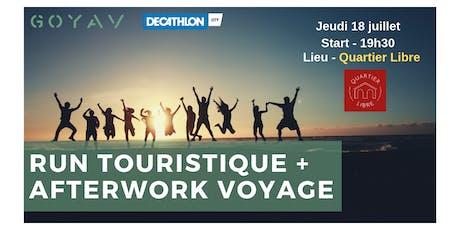 Run Touristique et/ou Afterwork Voyage billets