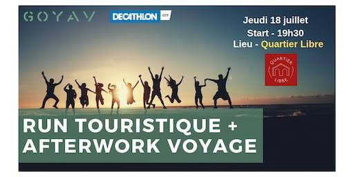 Run Touristique et/ou Afterwork Voyage