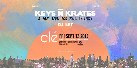 Keys N Krates / Friday September 13th / Clé tickets