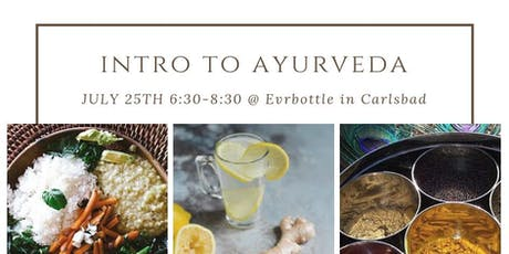 Introduction to Ayurveda with Cooking Demo tickets