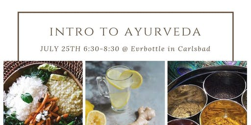 Introduction to Ayurveda with Cooking Demo
