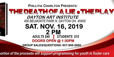 The Death of a Lie - STAGE PLAY by Phillitia Charlton  tickets
