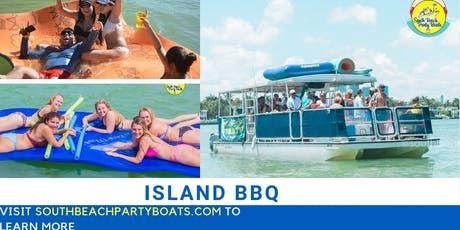 Party Boat Island BBQ tickets