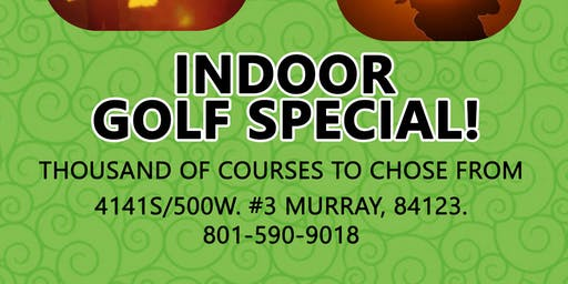 Indoor Golf, Summer Sizzler Discount