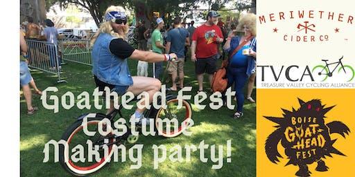Costume Making for Goathead Fest!