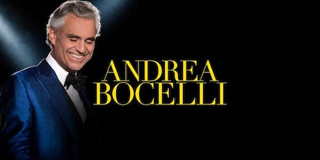 Andrea Bocelli Premium Tickets and Backstage Meet and Greet tickets