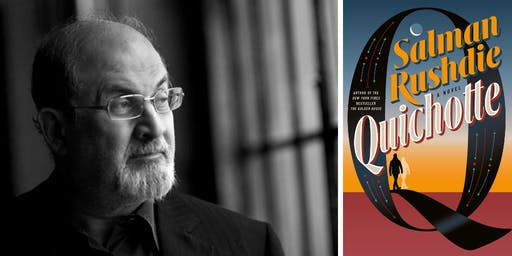 Salman Rushdie at First Parish Church