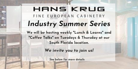 Hans Krug Industry Summer Series tickets