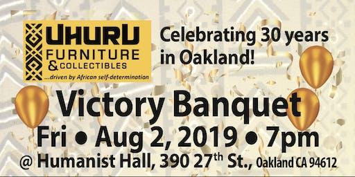 Uhuru Furniture 30th Anniversary Banquet Weekend