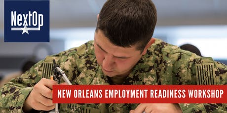 NextOp Employment Readiness Workshop (New Orleans, LA) tickets