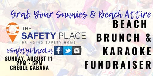 Beach Brunch & Karaoke FUNdraiser!