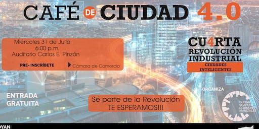 Café de Ciudad: Ciudades Inteligentes