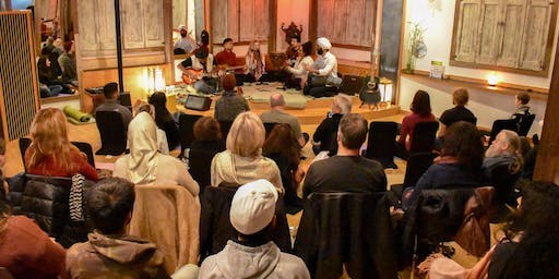 Sanskrit Music and Meditation Social - Kirtan Night at Bridge & Enrich