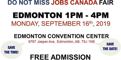 Edmonton Job Fair - September 16th, 2019