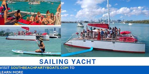 Brickell Sailing Yacht Party