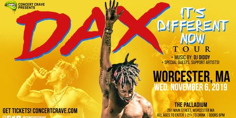 Concert Crave Presents: DAX Performing Live! - Worcester, MA tickets