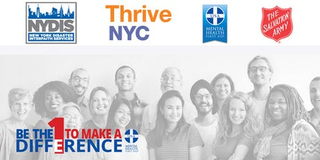 Mental Health First Aid & Opioid Overdose Training for Faith Community Leaders tickets