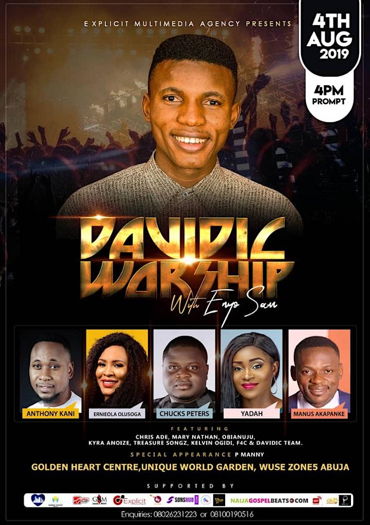 Make plans to attend Davidic Worship 2019 image