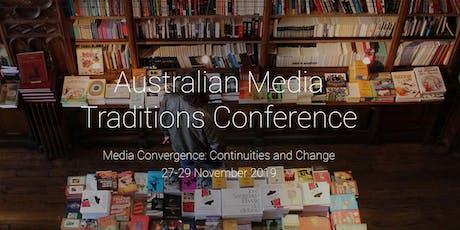 Australian Media Traditions 2019 tickets