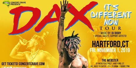 Concert Crave Presents: DAX Performing Live! - Hartford, CT tickets