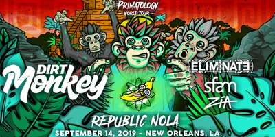 Dirt Monkey - PRIMATOLOGY TOUR