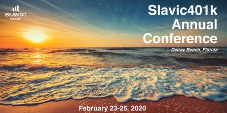 2020 Slavic401k Annual Conference tickets
