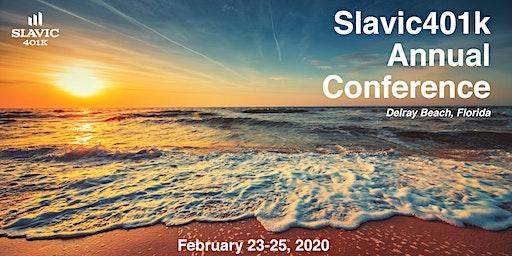 2020 Slavic401k Annual Conference