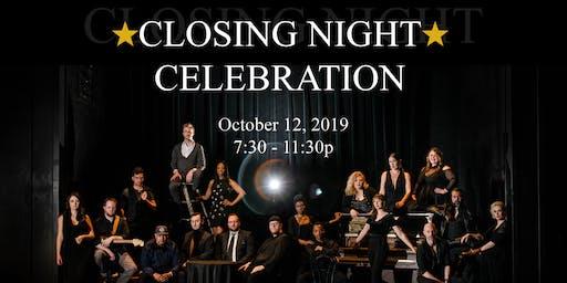 Jesus Christ Superstar Closing Night and Celebration