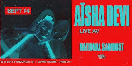 Aisha Devi tickets