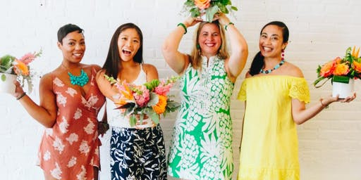 Sunset in Paradise: A Ladies Night Out With Friends, Food and Flower Arrang