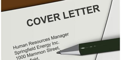 How to Write a Cover Letter Tickets, Mon, Sep 23, 2019 at 11:00 AM ...