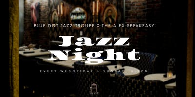 Jazz Nights at The Alex - Blue Dot Jazz Troupe
