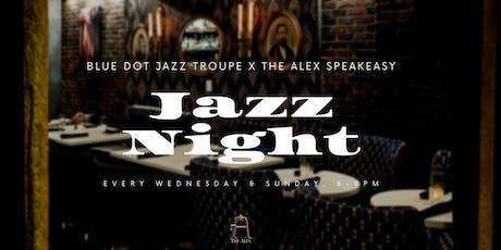 Jazz Nights at The Alex - Blue Dot Jazz Troupe tickets