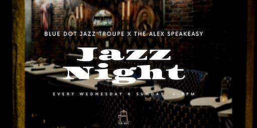 Jazz Nights at The Alex - Blue Dot Jazz Troupe