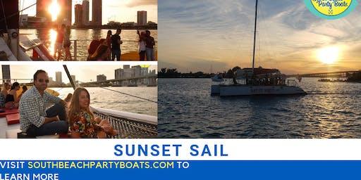 Sunset Sailing Yatch